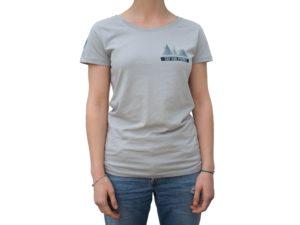CAP SUR PORNIC - T-shirt Femme Grey Gris