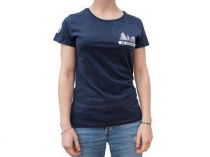 CAP SUR PORNIC - T-shirt femme navy