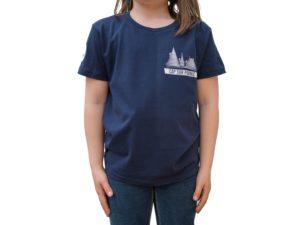 CAP SUR PORNIC - T-shirt enfant Bleu Navy