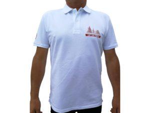 CAP SUR PORNIC - Polo Homme Blanc