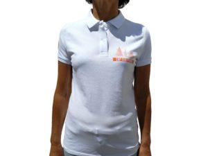 CAP SUR PORNIC - Polo Femme Blanc