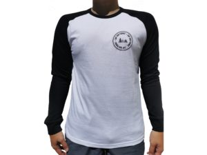 CAP SUR PORNIC - T-shirt MIXTE - Noir & Blanc - Manches Longues