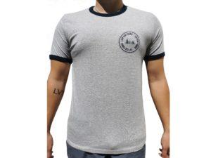 CAP SUR PORNIC - T-shirt Bleu Gris - Homme